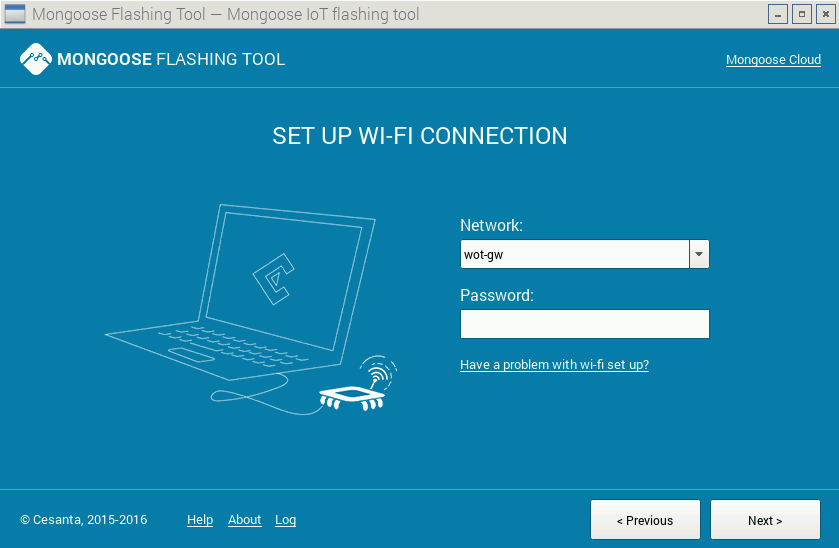 MFT - Connect to WiFi Network