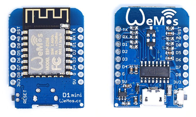 JavaScript-Based IoT/WoT Development with the ESP8266 and