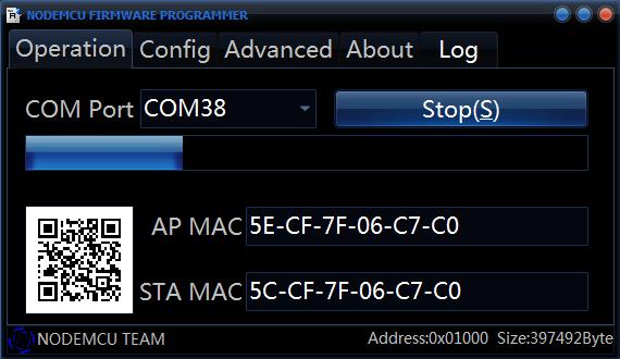 Firmware Update in Progress