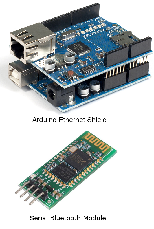 Network Connection Modules for Arduino