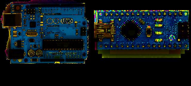 Arduino UNO R3 and Nano 3