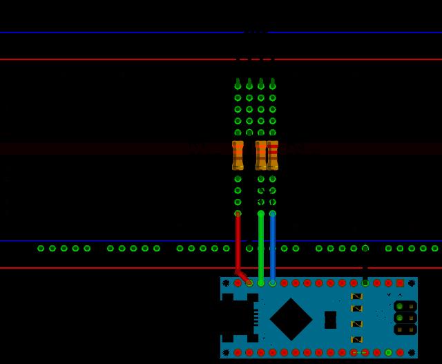 Arduino Nano Breadboard