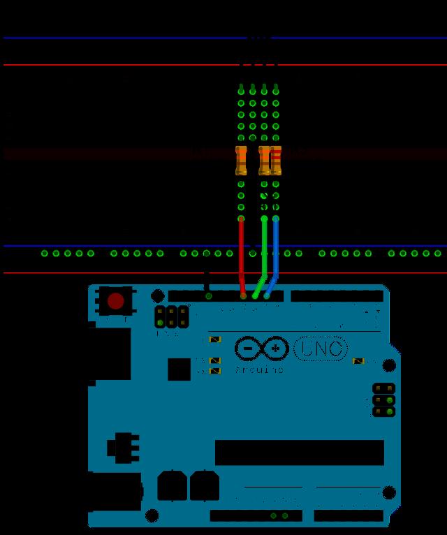 Arduino UNO Breadboard