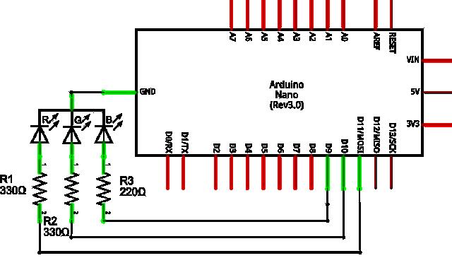 Arduino Nano Schematics