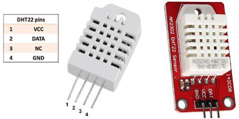 DHT22 Sensors