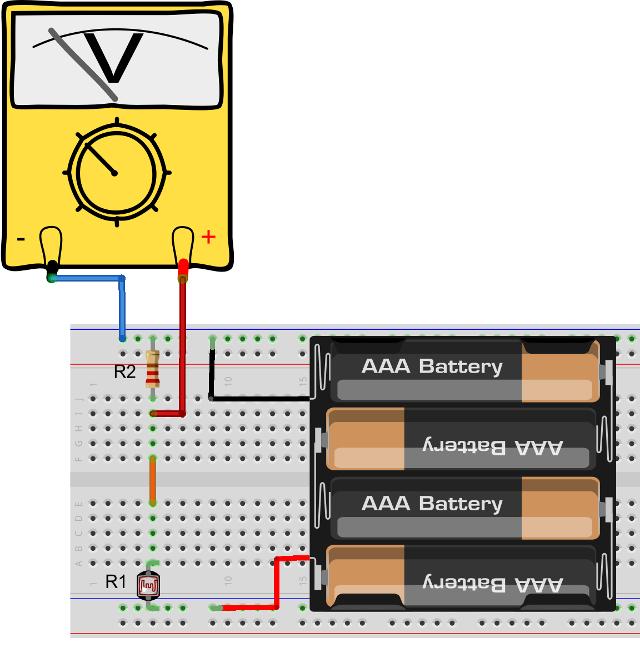 Measure Resistance Using a Voltmeter.