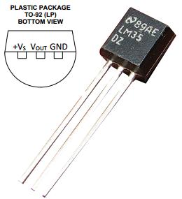 LM35DZ Analog Sensor